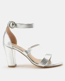 Staccato Fashion Sandals Metallic Silver