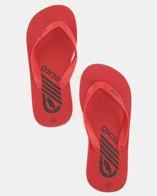 ECKÓ Unltd Flip Flops Red
