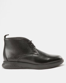 Paul of London  Lace Up Boots Black
