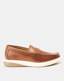 Paul of London Penny Mocc Slip On Tan