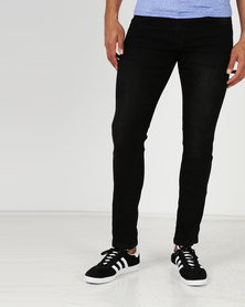 Jonathan D Fuel Slim Jeans Black