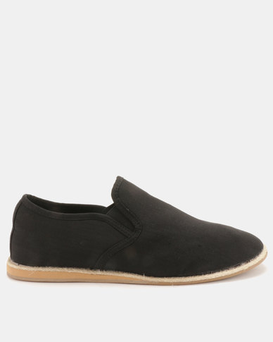 New Look Calvin Espadrilles Black
