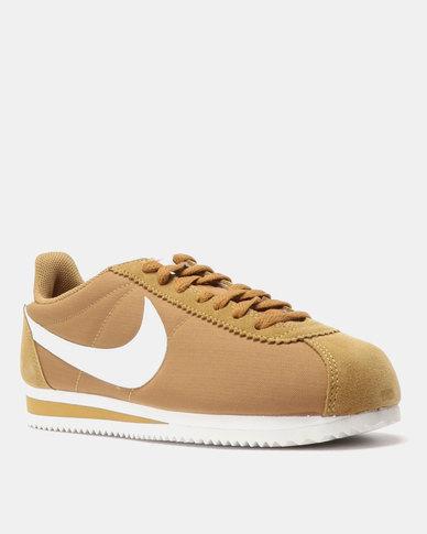 Nike Classic Cortez Nylon Muted Bronze White  665e0fbe476