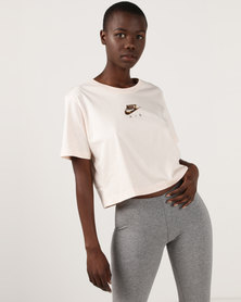 Nike W NSW Air Top SS Crop White