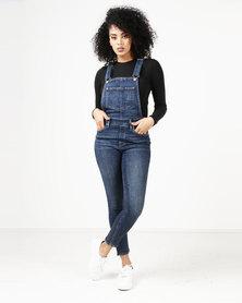 Levi's ® Skinny Overalls Blue