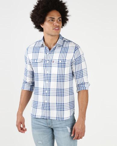 Levi's® Classic Worker Shirt Gopher Galaxy Blue