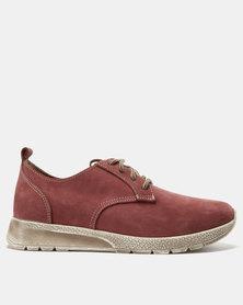 EVOX Hassan Casual Shoes Burgundy