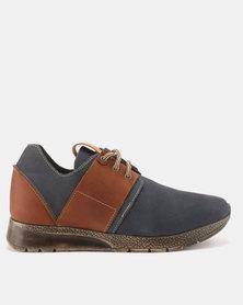 EVOX Alvin Casual Shoes Navy/Rust