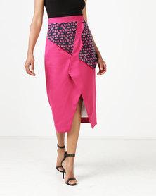 MmusoMaxwell Triangle Skirt Cerise Pink