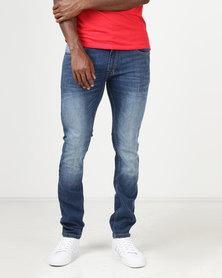 Balacotti Boga Denim Jeans Mid Blue