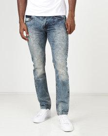 Balacotti Reno Denim Jeans Bleach Blue