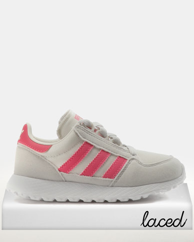 watch 3bb07 597ad adidas Girls Forest Grove CF C Sneakers Pink  Zando