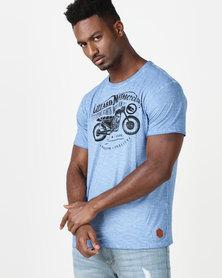 Lizzard Zyron T-Shirt Blue