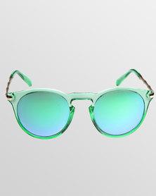 Skone Langebaan Key Hole UV400 Sunglasses Green