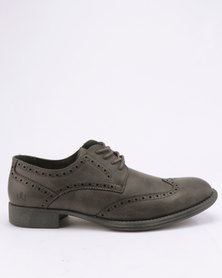 Franco Ceccato Fashion Gibson Brogue Extended Dark Grey