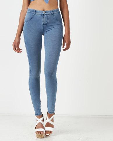 Sissy Boy Sculpt Skinny Jeans Med Blue