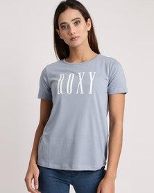 Roxy Red Sunset Essentials T-Shirt Blue