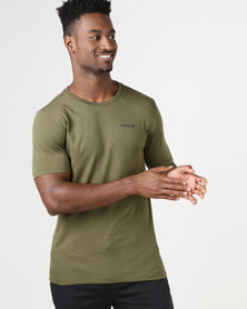 Hurley DF OAO 2.0 T-Shirt Olive Green