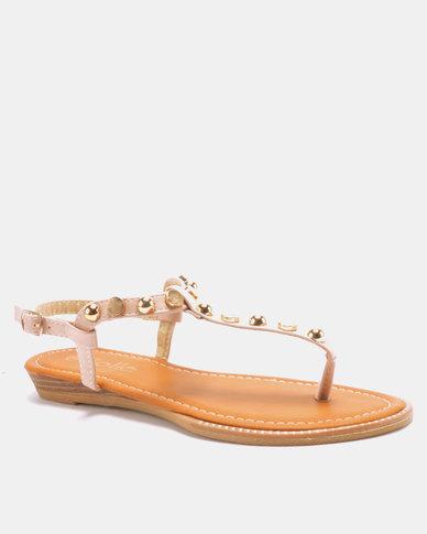 Solle Embellished Sandal Pink