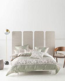 Linen House Winchelsea Duvet Cover Set Green