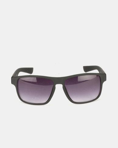JCrew Rubber Frame Sunglasses Black
