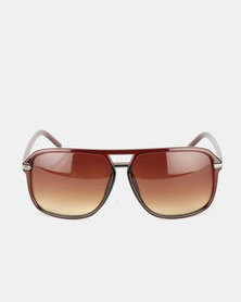 JCrew Matte Crystal Sunglasses Brown