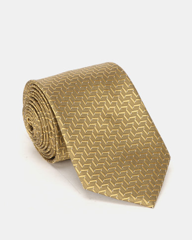 JCrew Gold Silk Tie Gold