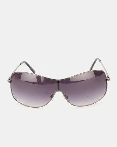 JCrew Brushed Gunmetal Sunglasses Metalics/Colour