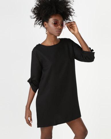 Utopia Tunic Dress Black