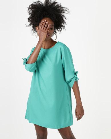 Utopia Tunic Dress Emerald