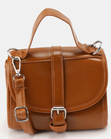 Utopia Crossbody Bag Tan