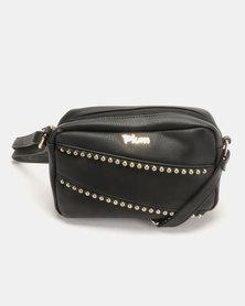 Plum Accessories Midnight Crossbody Handbag Black