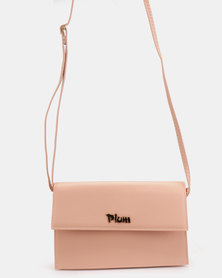Plum Accessories Tanga Clutch Handbag Pink