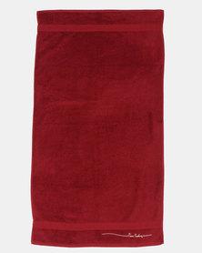 Pierre Cardin Bath Towel Red