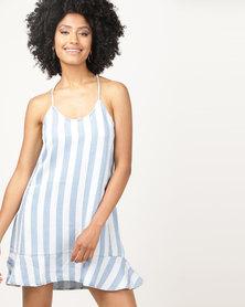 All About Eve Jewels Stripe Dress Blue