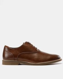 Steve Madden Nunan Dress Shoes Tan
