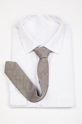 JCclick Mat Textured Tie Grey