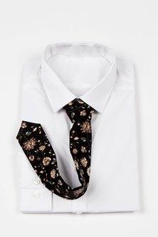 JCclick Jacques Tie Navy Floral