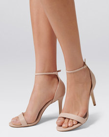 Forever New Aria Heeled Sandals Nude