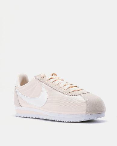 Nike Classic Cortez Nylon Sneakers Guava IceWhite