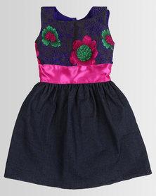 COTYLEDONS Kiddies Tsonga Dress Pink/Purple