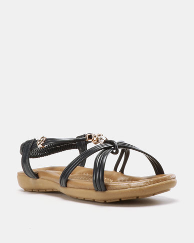 Solle Glam Sandals Navy