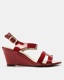 Solle Patent Wedges Wine