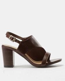 Urban Zone Heeled Sandals Tan