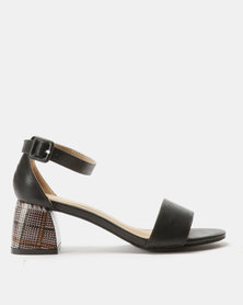 Urban Zone Statement Heels Black