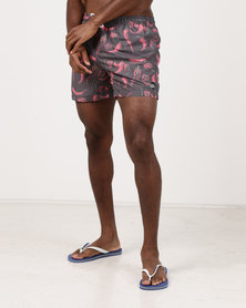 Lizzard Red Chilly Boardshorts Black