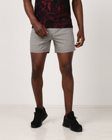 Silent Theory Uno Shorts Grey