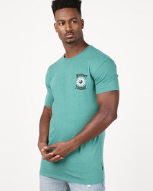 Silent Theory Reply Hazy Tee Teal