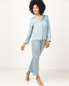 Women'secret Sense Pyjamas Blue