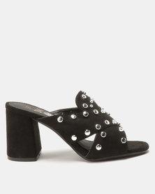 Dolce Vita Bellagio Slip On Heels Black